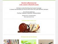 lotto-jansen.de Webseite Vorschau