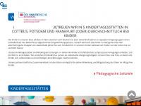 kita-paritaet.de Webseite Vorschau