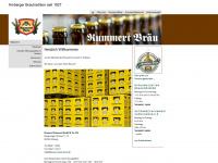 brauerei-kummert.de Webseite Vorschau