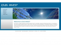 zug-invest.de Webseite Vorschau