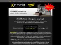 xcad.at Webseite Vorschau