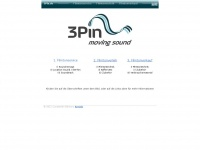 3pin.de Webseite Vorschau