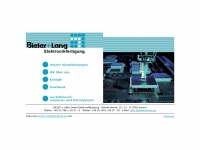 bl-elektronik.de Webseite Vorschau