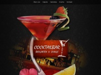 cocktailbar-louis.de Webseite Vorschau