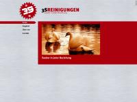 3sreinigungen.ch Webseite Vorschau