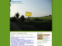 walkersbach.blogspot.com Webseite Vorschau