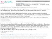 diesel-partikelrussfilter.de Webseite Vorschau