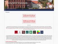 kulturfabrik-fuerstenwalde.de Webseite Vorschau