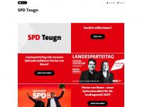 spd-teugn.de Webseite Vorschau