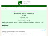 ambzentrum.de Webseite Vorschau