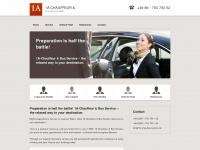 1a-chauffeurservice.de Webseite Vorschau