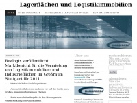 logistikimmobilien.wordpress.com Webseite Vorschau