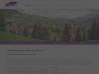 amadeus-serfaus.at Webseite Vorschau