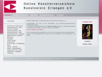 kve-kuenstler.de Webseite Vorschau