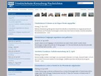 xhain.net Webseite Vorschau