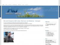 ambiente-virtual.de Webseite Vorschau