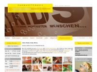 kidsdent-sn.de Webseite Vorschau