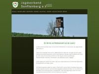 jagdverband-senftenberg.de Webseite Vorschau