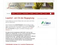 lopshof-verein.de Webseite Vorschau