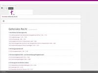 kirchenrecht-bremen.de Webseite Vorschau