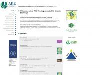 ake-nutrition.at Webseite Vorschau