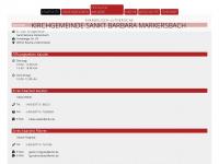 kirche-markersbach.de Webseite Vorschau