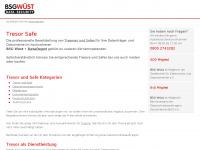 tresor-safe.info Webseite Vorschau