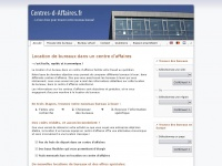 centres-d-affaires.fr Webseite Vorschau