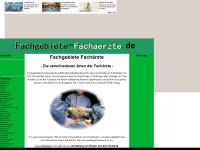 Fachgebiete-fachaerzte.de