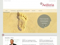 aeiforia.de Webseite Vorschau