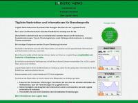 logistic-news.de Webseite Vorschau