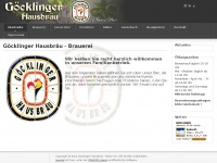 Goecklingerhausbraeu.de