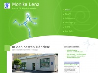 physio-lenz.de Webseite Vorschau