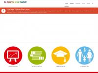 kinderuni-nes.de Webseite Vorschau