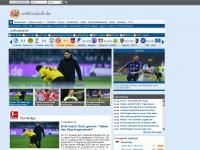 weltfussball.de Webseite Vorschau