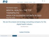 research2guidance.com Webseite Vorschau