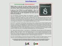 schriftdeutsch.de