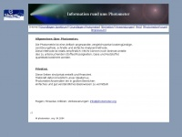 photometer.org Webseite Vorschau