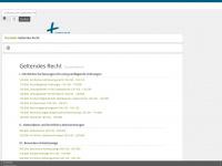kirchenrecht-baden.de Webseite Vorschau