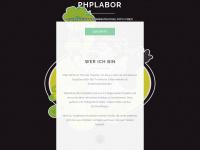 phplabor.de Webseite Vorschau