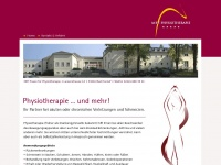 physiotherapie-honnef.de Webseite Vorschau
