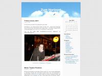 zumhorizont.wordpress.com Webseite Vorschau