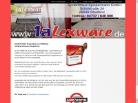 1a-lexware.de Webseite Vorschau