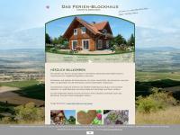 ferien-blockhaus.com Webseite Vorschau