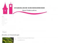 kirche-niederzwehren.de Webseite Vorschau