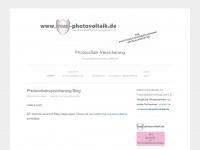photovoltaikversicherung.wordpress.com Webseite Vorschau