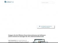 kiratik.de Webseite Vorschau
