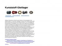 kunststoff-gleitlager.de Webseite Vorschau