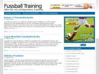 Trainingsplan-fussball.de