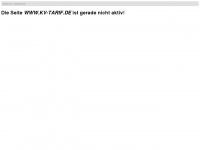 kv-tarif.de Webseite Vorschau